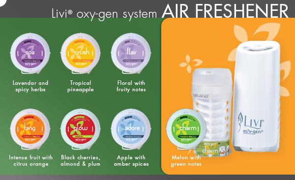 Livi oxygen air-freshener system v2